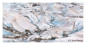 mendenhall glacier surface boulders
